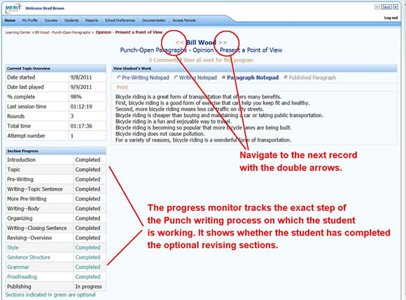 Student Tracking with Merit's Teacher Program Manager